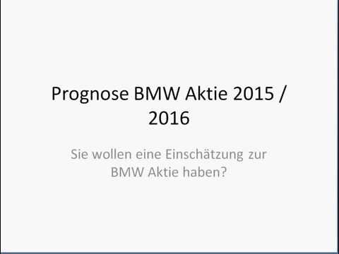 Prognose BMW Aktie