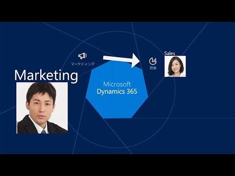 【マイクロソフト】Dynamics 365 Customer Engagement 概要  Marketin…他関連動画