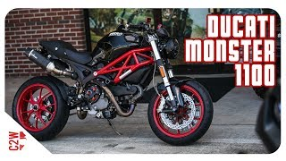 First Ride | 2009 Ducati Monster 1100 [Wrecked Bike Rebuild Season 1 - Finished Bike]