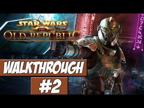 Star Wars: The Old Republic Walkthrough Ep.2 w/Angel - Fresh Off The Shuttle!
