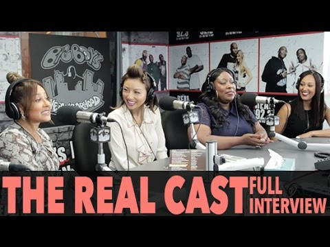 """The Cast of FOX's """"The Real"""" on Marriage, Diets, Babies And More! (Full Interview) 