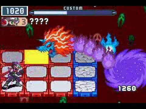 Team b Final Battle Megaman Battle Network 5 Team