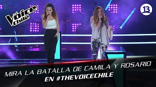 The Voice Chile | Rosario y Camila - Hand in my pocket