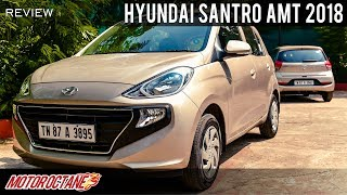 2018 Hyundai Santro AMT Review | Hindi | MotorOctane