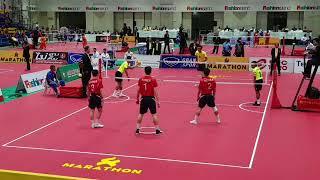 Malaysia Vs Korea - Sepak Takraw 32nd King's Cup (2017)