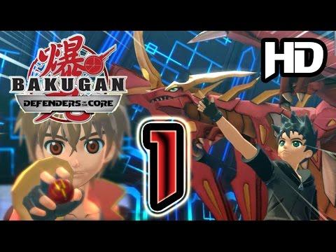 Bakugan: Defenders of the Core Walkthrough Part 1 (PS3, X360, Wii) HD
