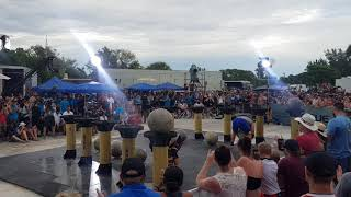 Adam Bishop vs Luke Stoltman - Atlasstone head to head @ The World's Strongest Man 2019