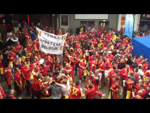 Vincent Kompany by Belgian Fans