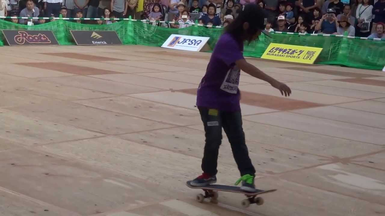 Freestyle Skateboard Champ Kid Has Insane Moves