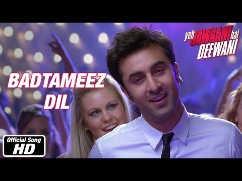 Badtameez Dil - Full Song - Yeh Jawaani Hai Deewani | Ranbir Kapoor, Deepika Padukone video