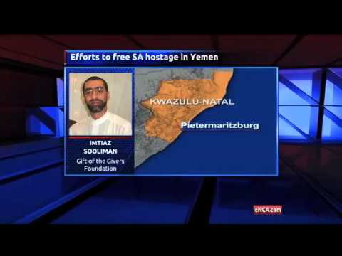 Rescue mission to Yemen for SA hostage
