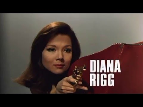 The Avengers 1961 - 1969 Opening and Closing Theme (With Snippets - Diana Rigg) HD Surround