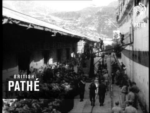 Selected Originals -  Pusan Aka News In Flashes - Black Watch Arrive In Korea (1952)