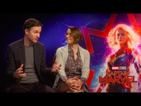 "Meet ""Captain Marvel"" Directors Anna Boden & Ryan Fleck"