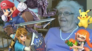 Showing My Grandma Smash Bros. Characters For The First Time (And Having Her Name Them)