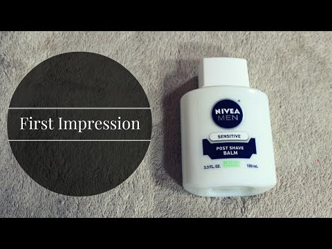 First Impressions: NIVEA MEN POST SHAVE BALM?!   Colorado Kate