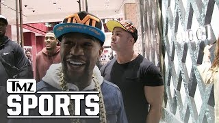 Floyd Mayweather Drops Fortune at Gucci, Rips Blackface Boycott | TMZ Sports