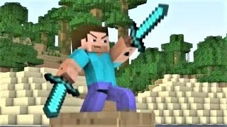 "Minecraft Song and Minecraft Animation ""Diamond Day"" Minecraft Song by Minecraft Jams"