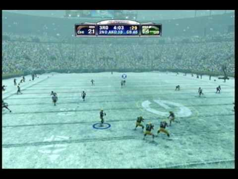 Madden 09 - DragonFranchise(Packers) Vs EachUserpick6(Bears) Video