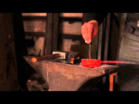Forging Damascus Steel with Jonas