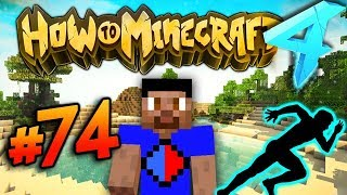 RACE FOR THE WOOL EVENT! - HOW TO MINECRAFT S4 #74