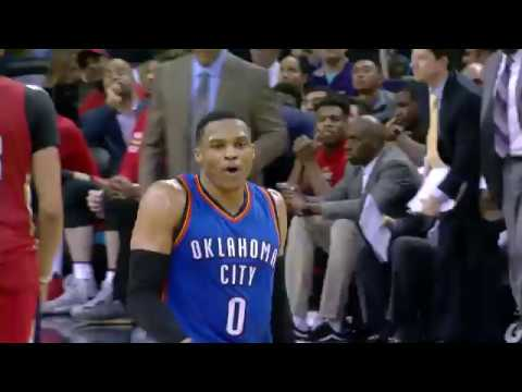 Westbrook Seals Game with 3-Pointer, Shows off Dance Move | 12.21.16