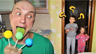 Johny Johny Yes Papa Eating Lollipops / Nursery Rhymes Song for kids by Ksysha Kids TV