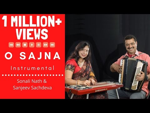 O Sajna Barkha Bahar Instrumental | Hawaiian Guitar | Accordion...