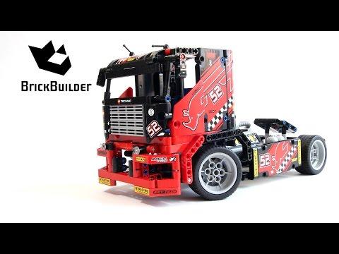 Lego Technic 42041 Race Truck - Lego Speed build