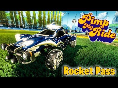 PIMP MY ROCKET LEAGUE RIDE - ROCKET PASS