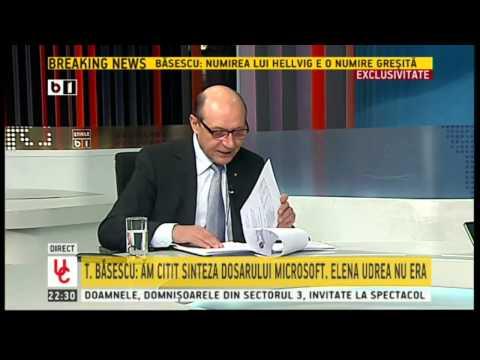 Traian Basescu, despre finantarea partidelor