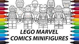download lagu How To Draw Lego Marvel Comics Minifigures Compilation gratis