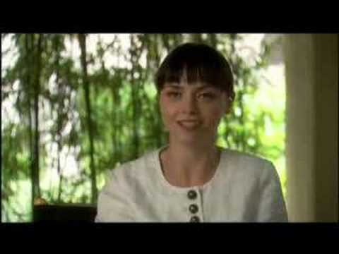 Speed Racer - Christina Ricci Interview Video