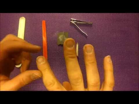 Tutorial: Cómo Tener Las Uñas Para Tocar La Guitarra [DIY]