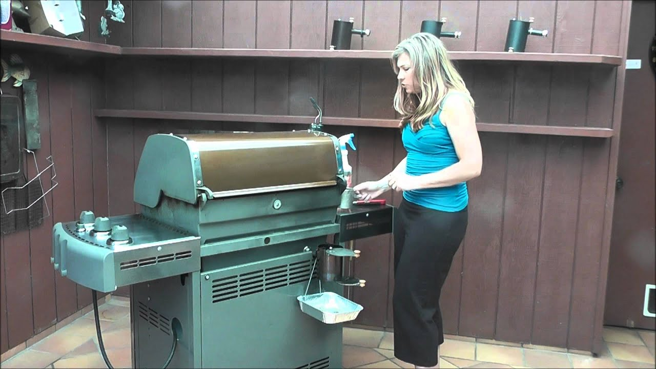 Bbq Smoker Shannon Showing An Easy Way Of Turning Your