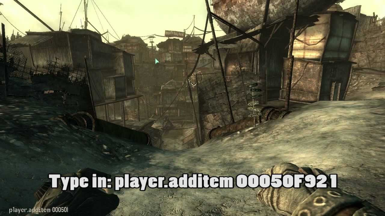 how to search for items using console commands fallout 3
