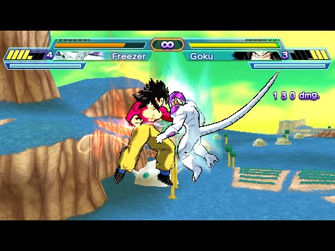 PPSSPP Dragon Ball Z Shin Budokai 2 para PSP iPhone y Android