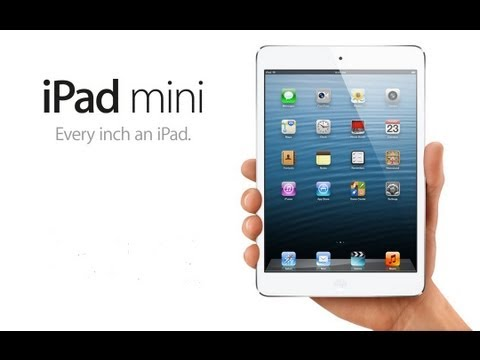 iPad Mini [Announcement][Keynote 2012][HD]