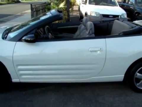 2003 Mitsubishi Eclipse Spyder Convertible San Diego - YouTube