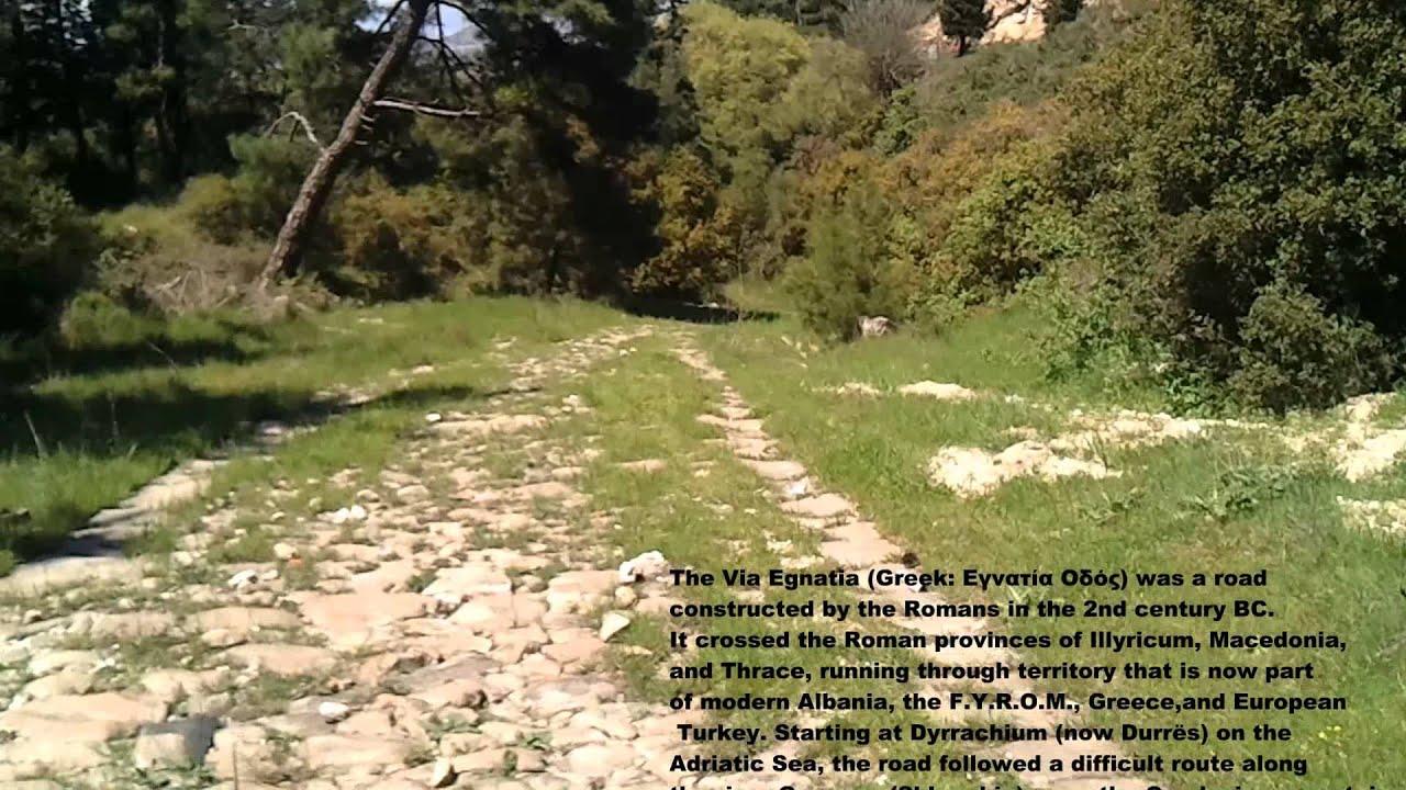Ancient Via Egnatia  Part Between Kavala And Philippi