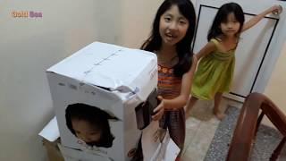 Người Máy Robot Bìa Carton Nảy Sinh Trò Đùa Bất Ngờ Thú Vị
