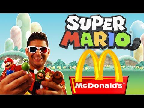 Coleção Super Mario McDonald's - Como Conseguir + Unboxing