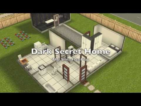 The Sims FreePlay- Dark Secret Home