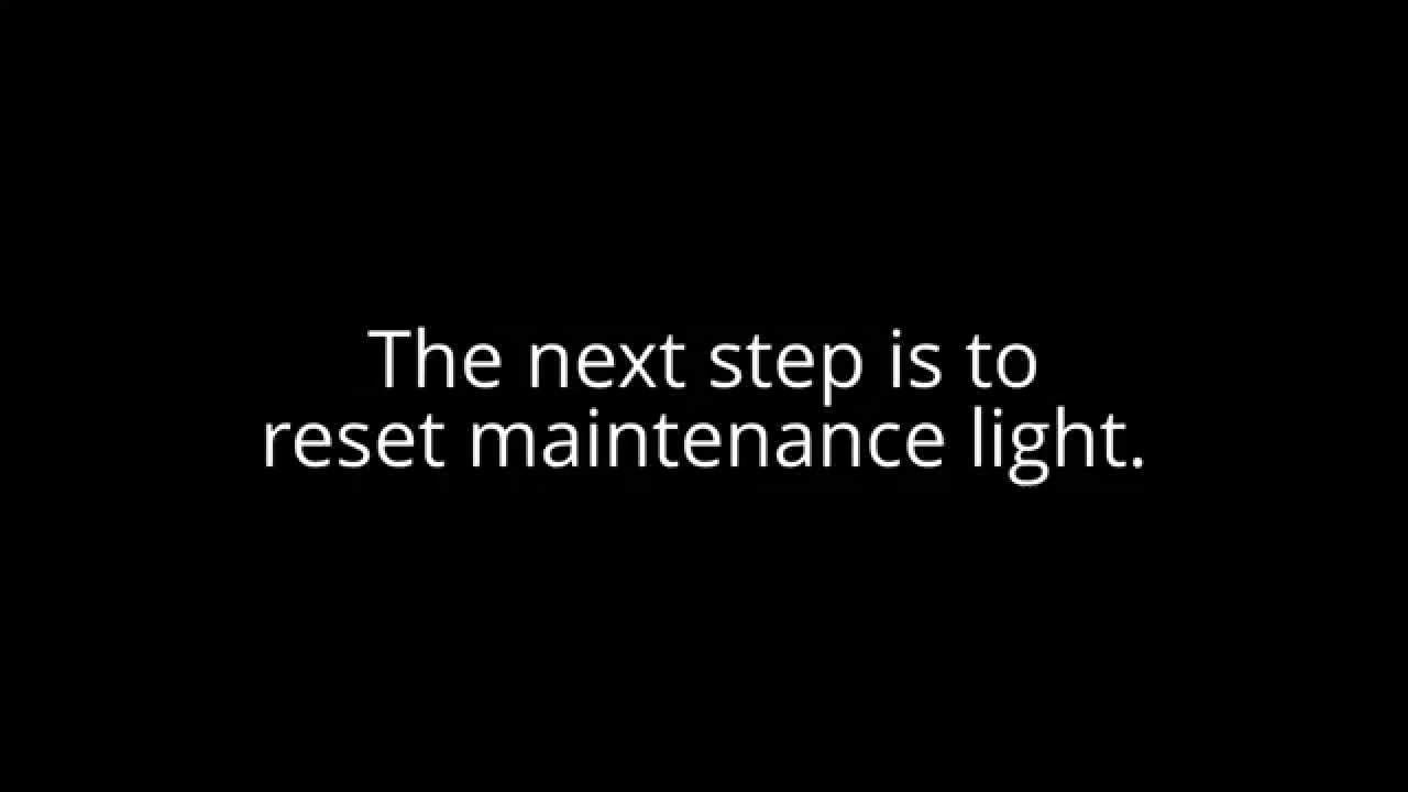How To Reset Maintenance Light On 2008 Toyota Camry 28