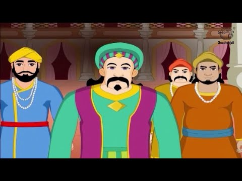 Tamil Stories for Children | Animated Stories in Tamil | Akbar and Birbal Stories | Akbar's Dream