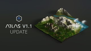 What's new in v1.1 - 3D Map Generator - ATLAS - Photoshop Plugin