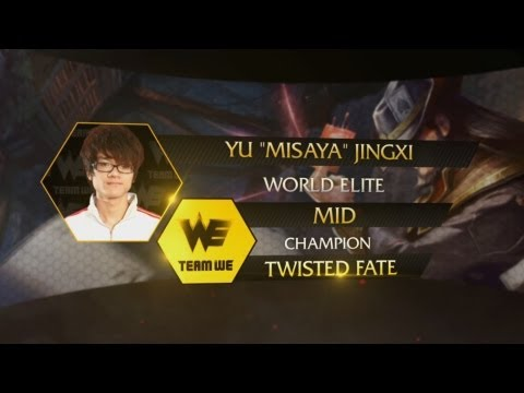 League of Legends Pro Player Pick: Misaya Picks Twisted Fate