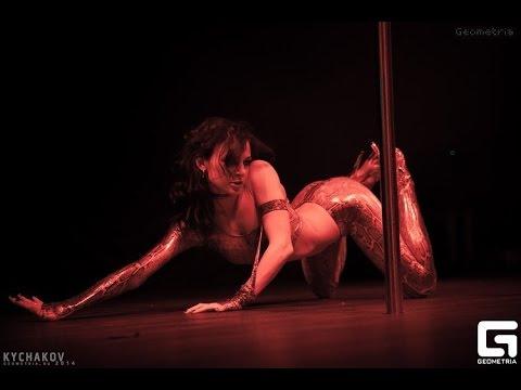 "Olga Panaeva, Strip Plastic, 2nd Place ""Pole Emotions - 2014"" Indigo Dance Studio"