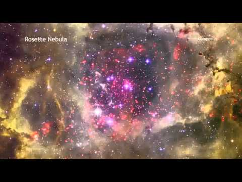 Rosette Nebula in 60 Seconds (High Definition)