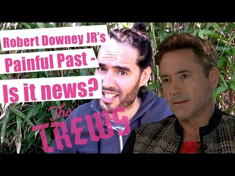 Robert Downey Jr's Painful Past - Is That News? Russell Brand The Trews (E305)